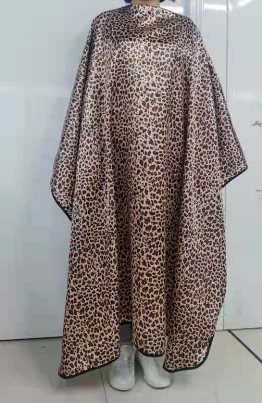 Luipaard print kapmantel